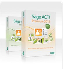 ACT 2012 Premium -Contact Management Software